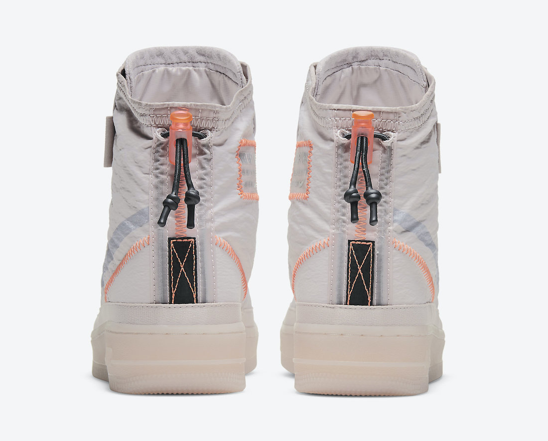 Nike Air Force 1 Shell Platinum Violet BQ6096-003 Release Date Info