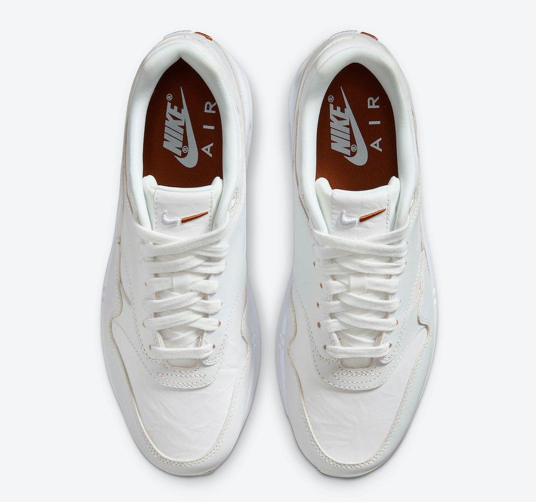 Nike Air Max 1 Summit White Sail DC9204-100 Release Date Info