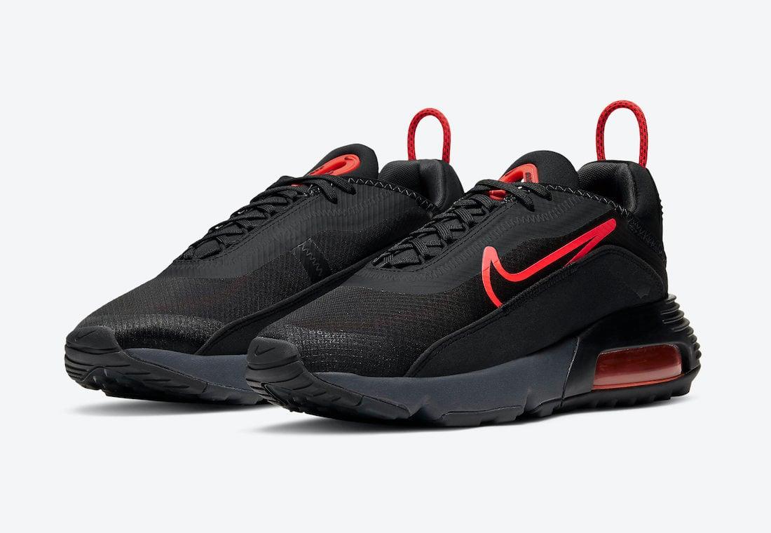 Nike Air Max 2090 Black Crimson CT1803-002 Release Date Info