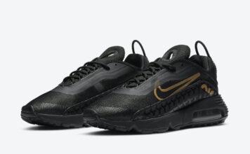 Nike Air Max 2090 Black Gold DC4120-001 Release Date Info