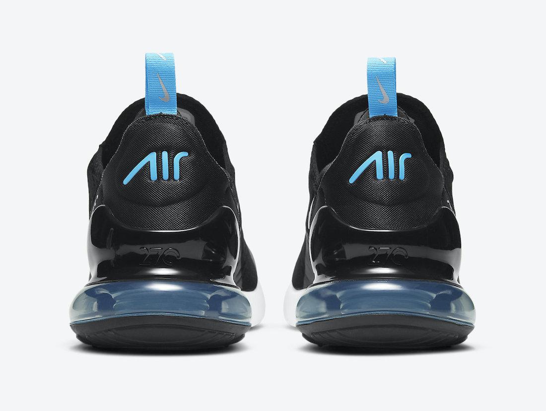 Nike Air Max 270 Black University Blue DD7120-001 Release Date Info