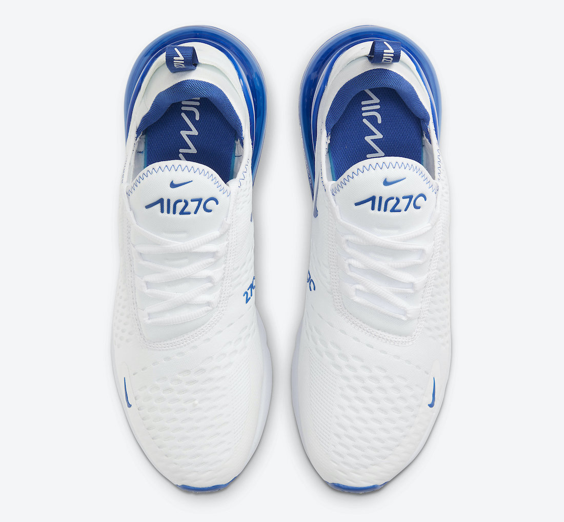 Nike Air Max 270 White Blue DH0268-100 Release Date Info