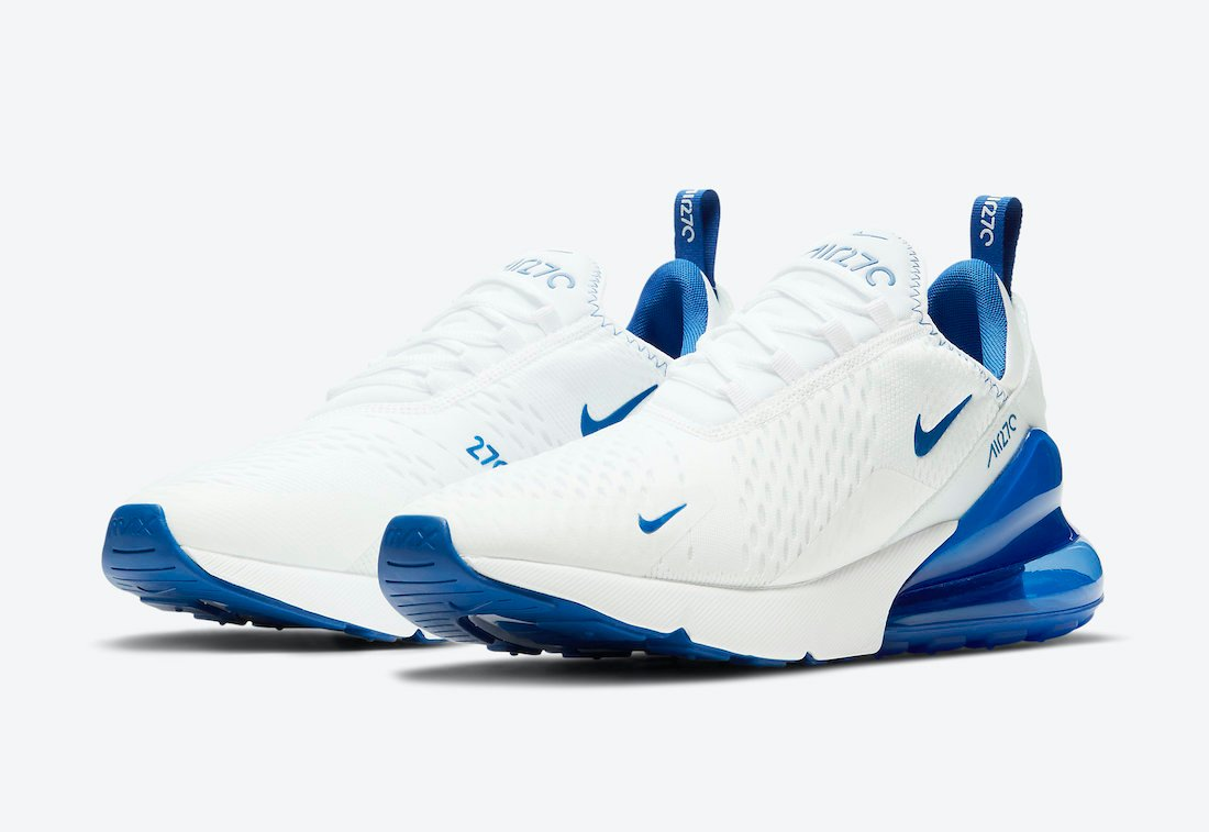 Nike Air Max 270 White Blue DH0268-100 Release Date Info ...