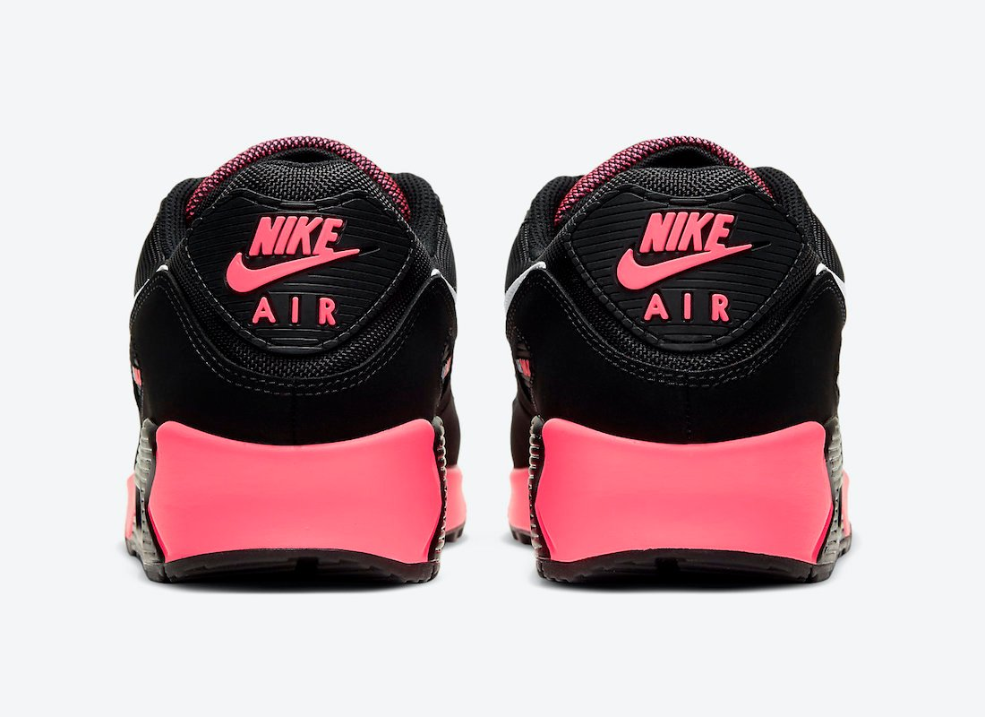 Nike Air Max 90 Black Racer Pink DB3915-003 Release Date Info