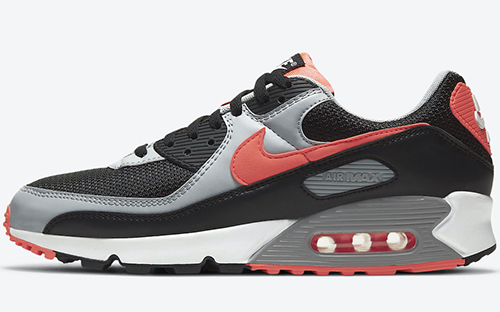 Nike Air Max 90 Black Radiant Red Release Date