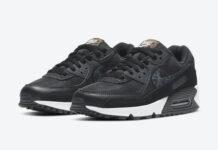 Nike Air Max 90 Black White Safari Leopard CV8824-001 Release Date Info