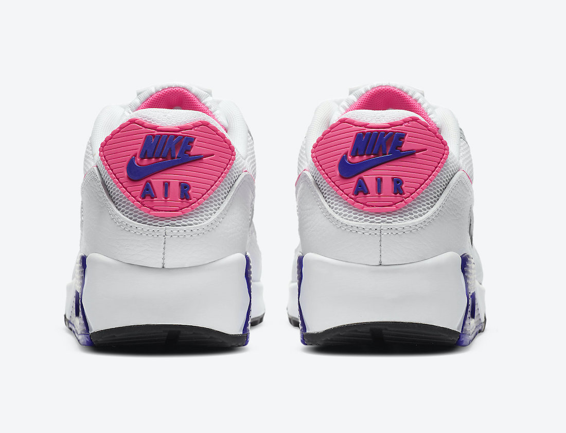 Nike Air Max 90 Concord Purple Pink Blast DC9209-100 Release Date Info
