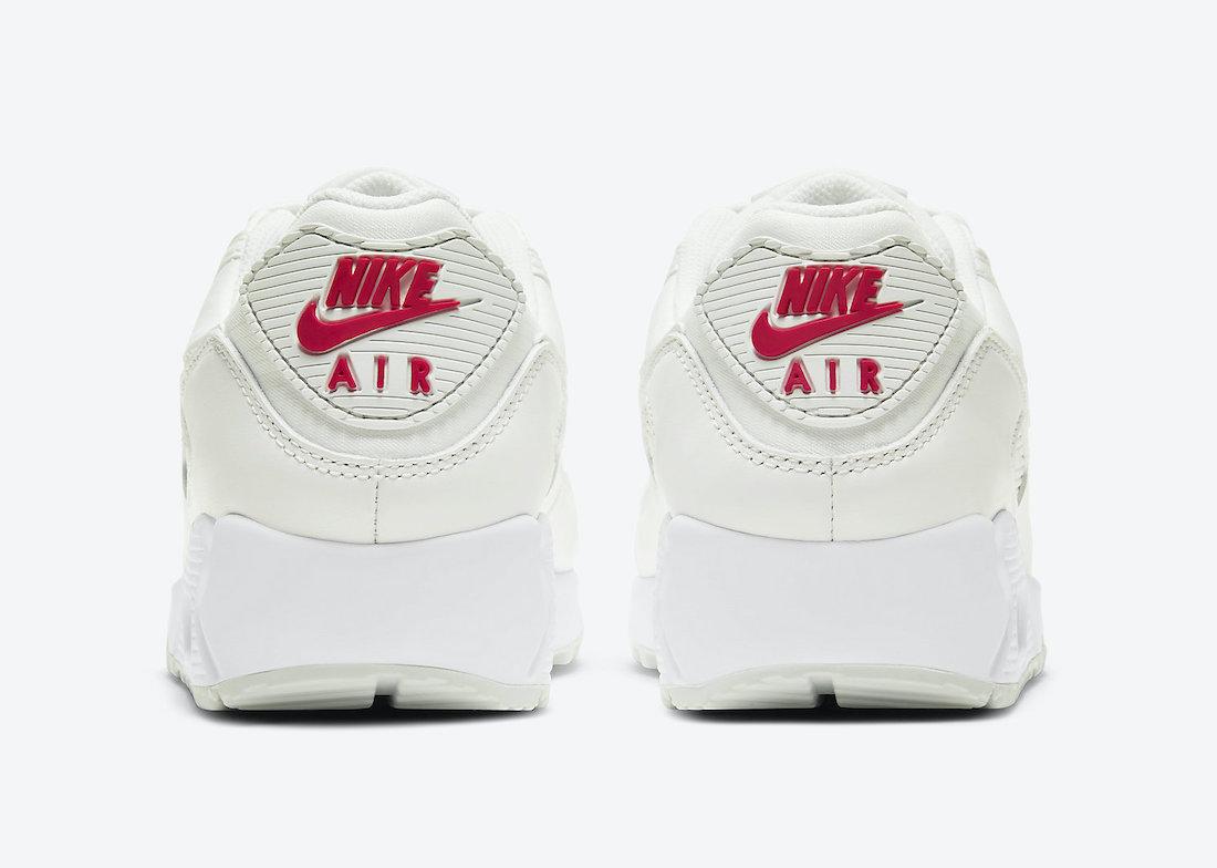 Nike Air Max 90 Sail Red CV8819-102 Release Date Info