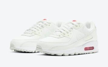 Nike Air Max 90 Sail Red CV8819-102 Release Date Info
