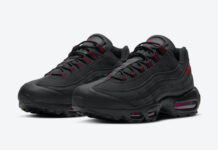 Nike Air Max 95 Black Red DD7114-001 Release Date Info