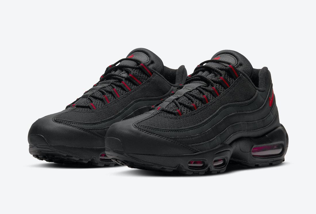 Nike Air Max 95 Black Red DD7114-001 Release Date Info