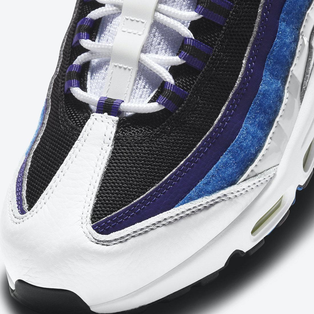 Nike Air Max 95 Kaomoji DD9600-100 Release Date Info
