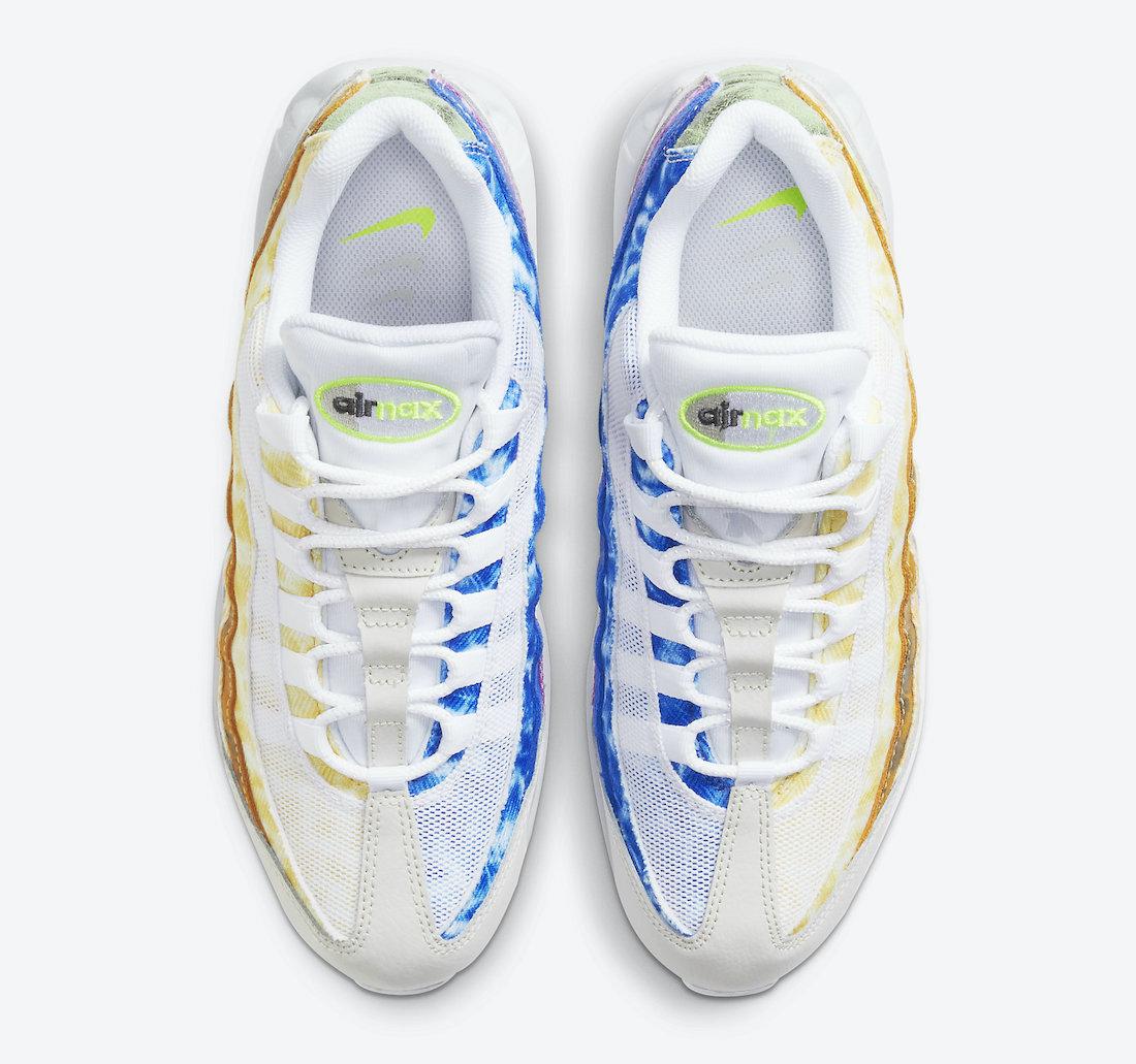 Nike Air Max 95 White Multi-Color DJ4594-100 Release Date Info