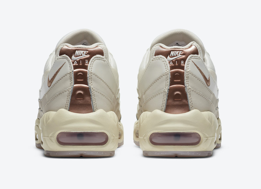 Nike Air Max 95 White Red Bronze CT1897-100 Release Date Info