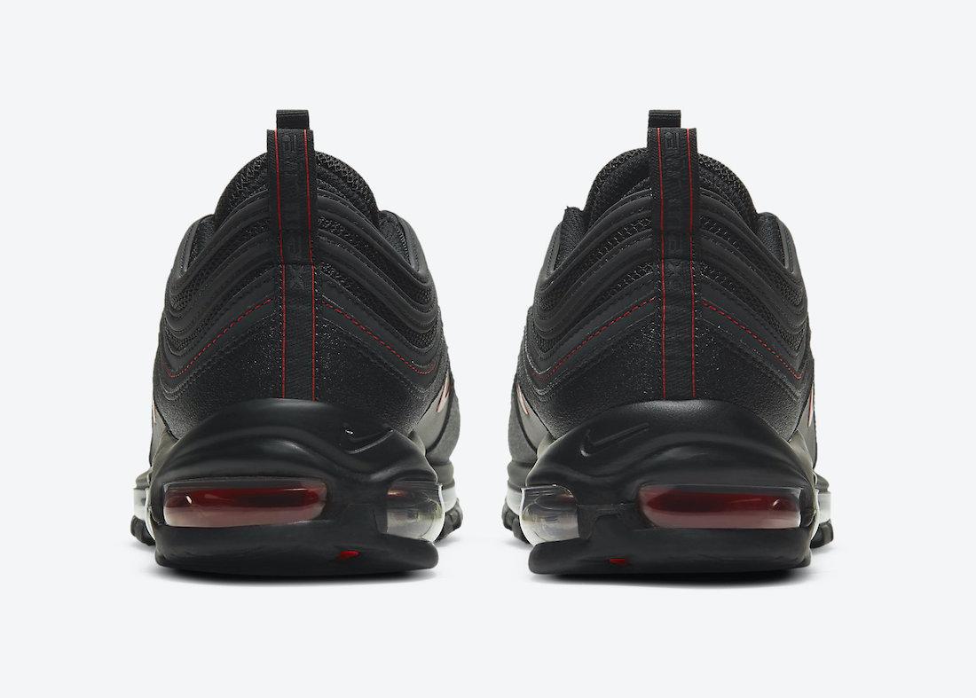 Nike Air Max 97 Black Red DA9325-101 Release Date Info