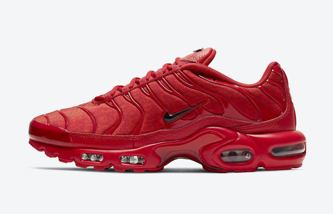 Nike Air Max Plus Red DD9609-600 Release Date Info