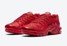 Nike Air Max Plus Red DD9609-600 Release Date Info
