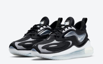 Nike Air Max Zephyr Black Grey White CV8817-002 Release Date Info