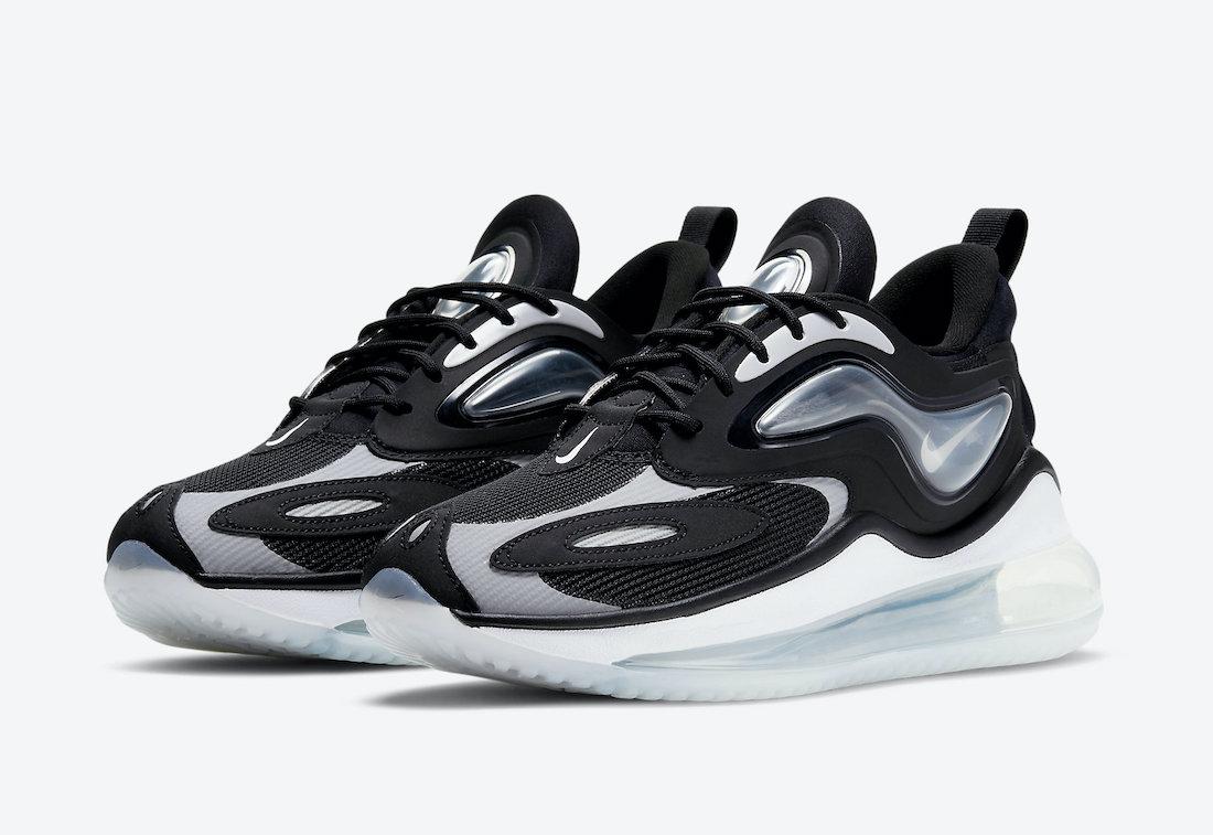 Nike Air Max Zephyr Black Grey White CV8817-002 Release Date Info