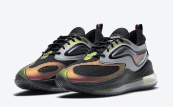 Nike Air Max Zephyr Charcoal Celery Saturn Red CV8834-001 Release Date Info
