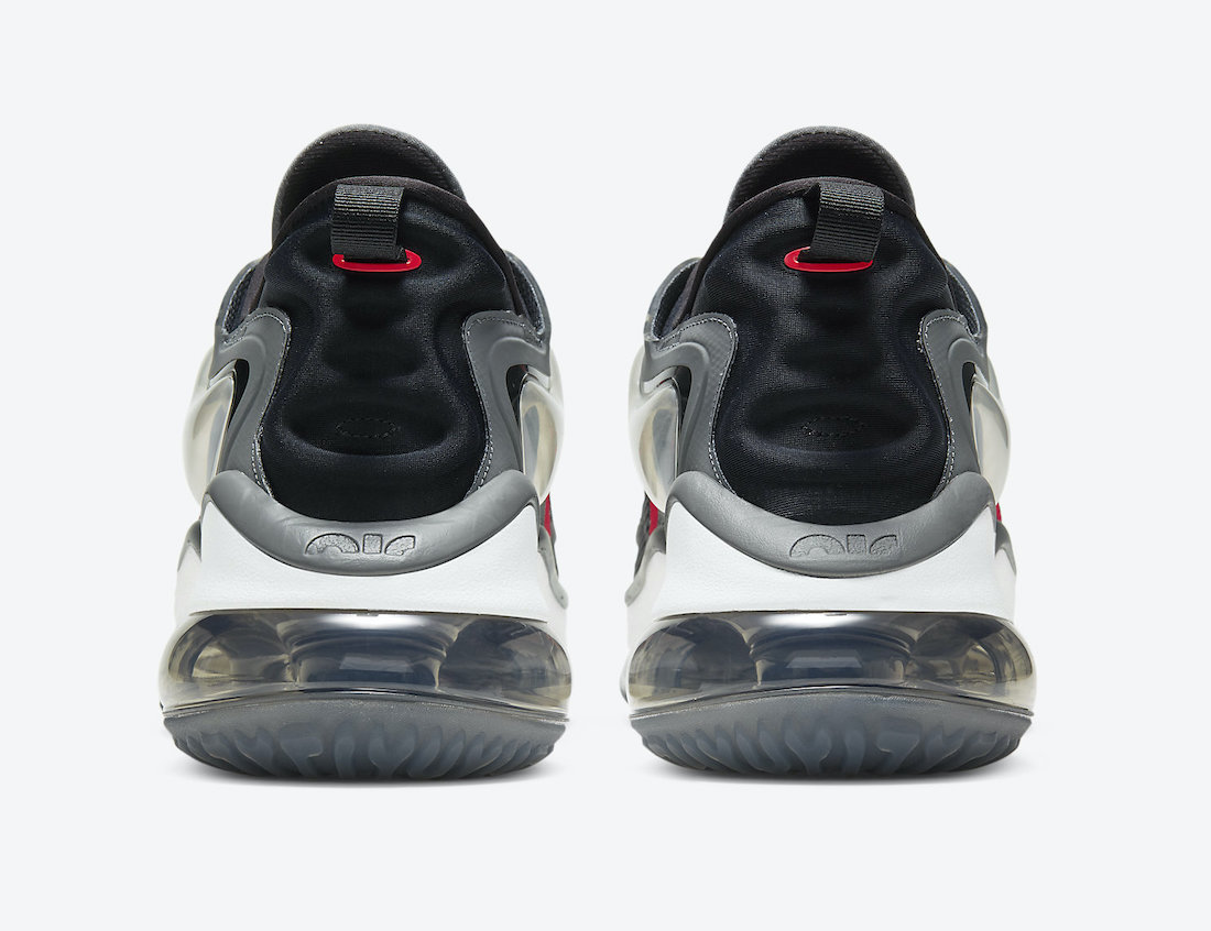 Nike Air Max Zephyr Grey Black Red White CV8837-003 Release Date Info