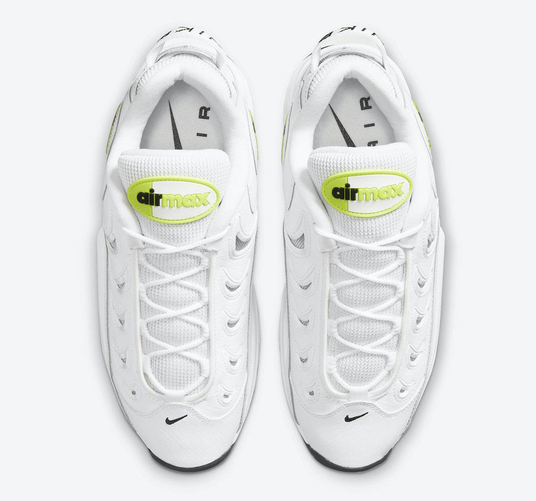 Nike Air Metal Max White Volt Black CN0051-100 Release Date Info