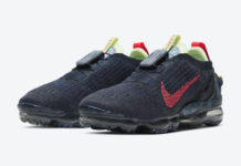 Nike Air VaporMax 2020 Obsidian Siren Red CW1765-400 Release Date Info