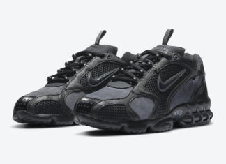 Nike Air Zoom Spiridon Cage 2 SE Black Dark Grey CU1768-001 Release Date Info
