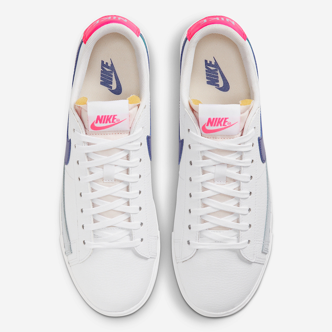 Nike Blazer Low Hyper Pink Concord DC9211-100 Release Date Info