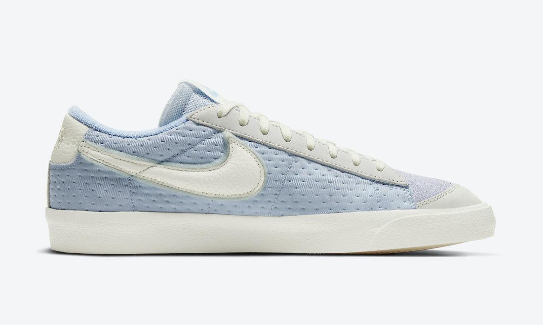 Nike Blazer Low Vintage 77 Psychic Blue DH4101-001 Release Date Info