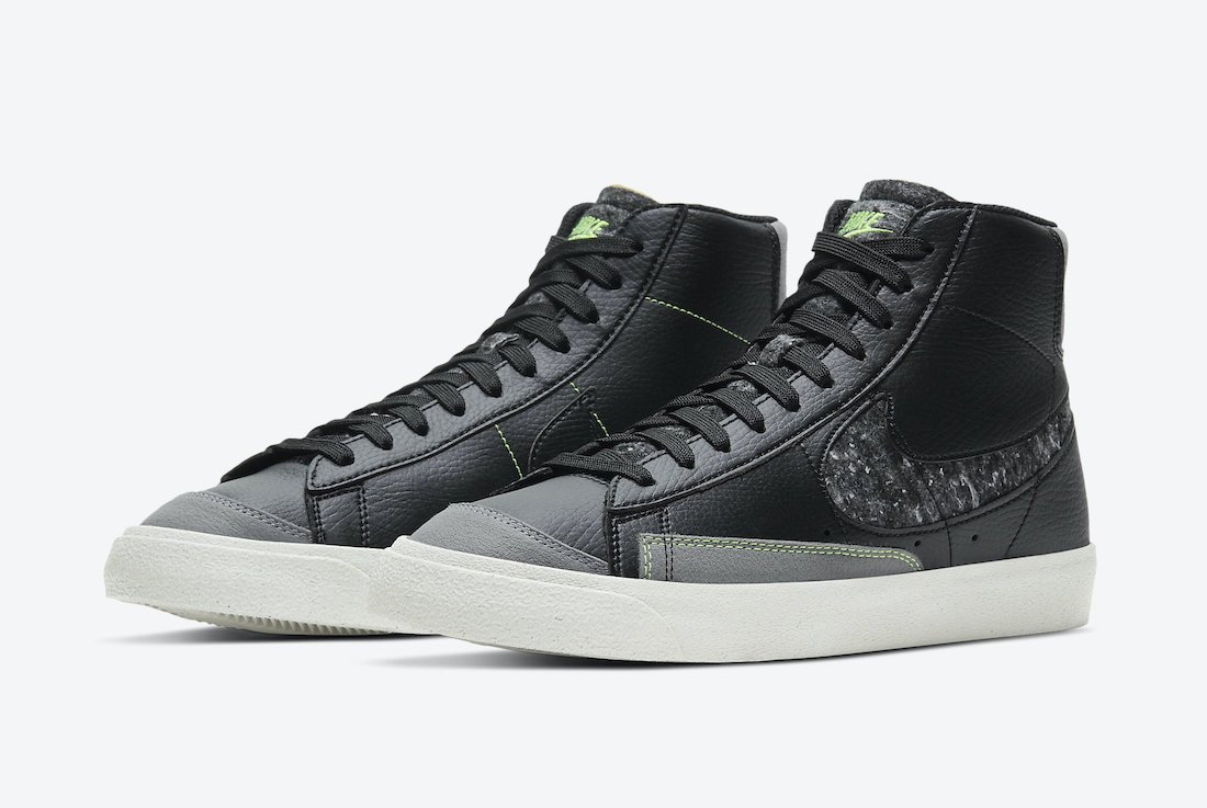 Nike Blazer Mid 77 Vintage Black Smoke Grey CW6726-001 Release Date Info
