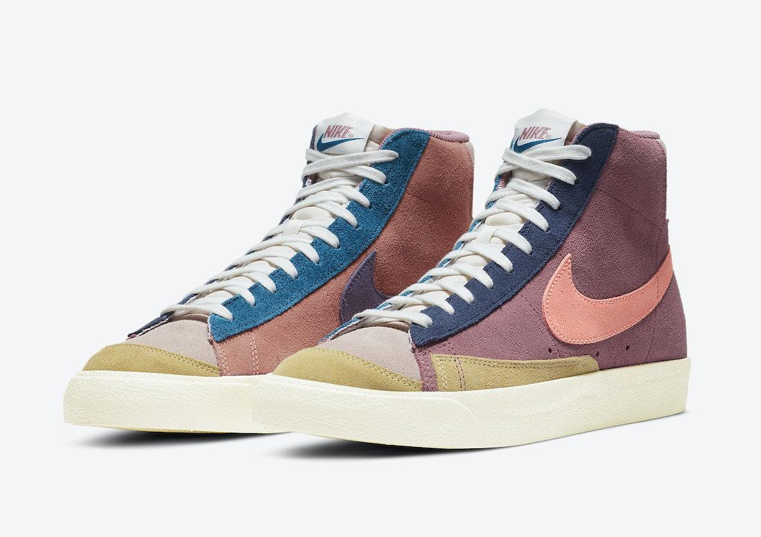 Nike Blazer Mid 77 Vintage Suede Desert Berry DC9179-664 Release Date Info