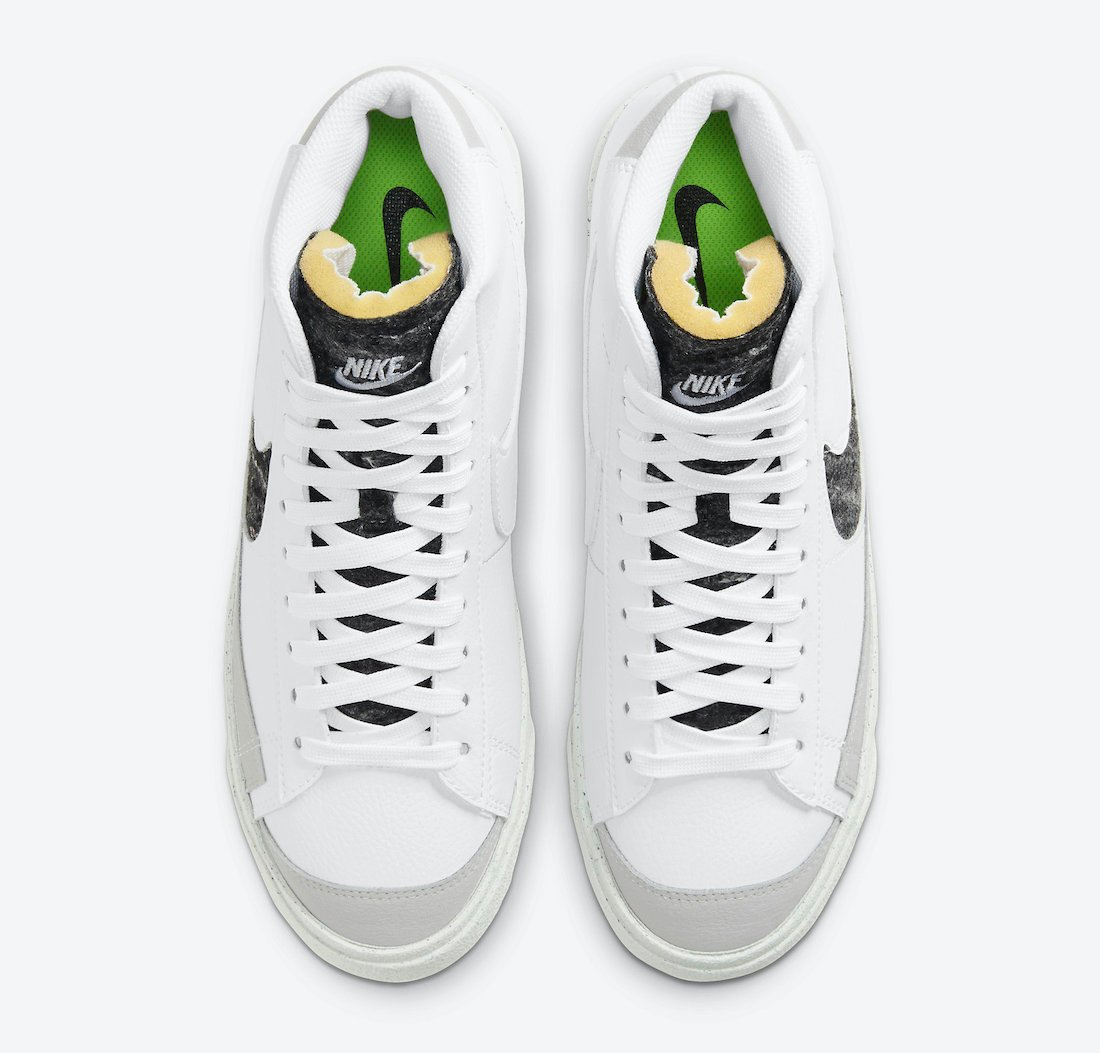 Nike Blazer Mid 77 Vintage White Smoke Grey CW6726-100 Release Date Info
