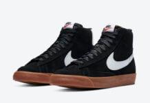 Nike Blazer Mid Black Gum CI1172-003 Release Date Info