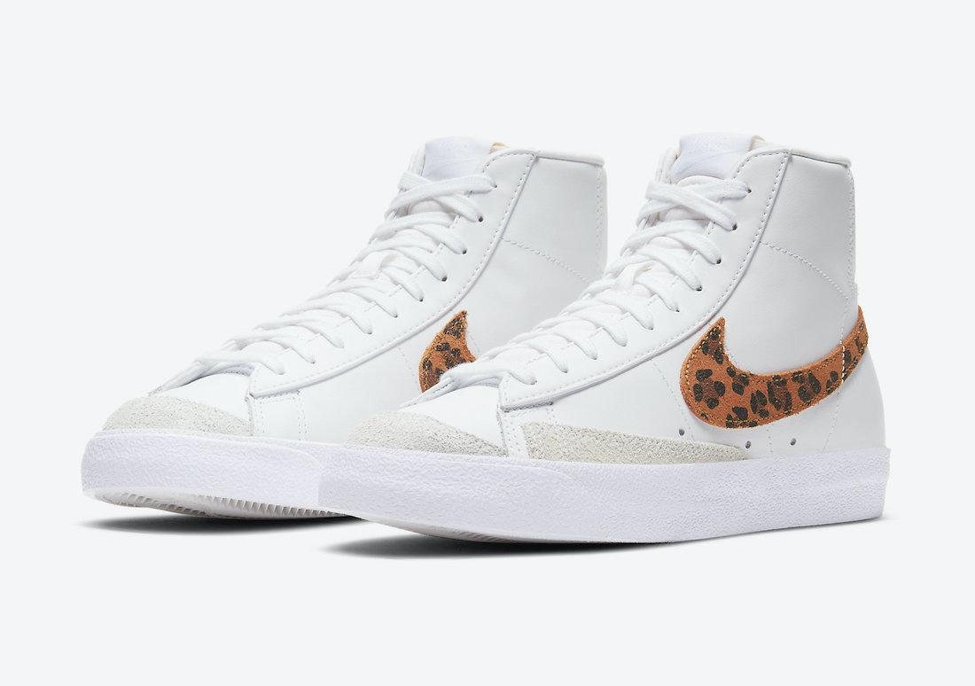 Nike Blazer Mid Leopard DA8736-101 Release Date Info