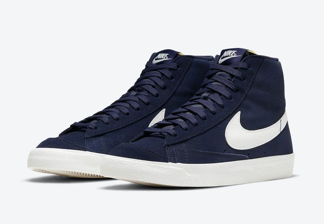 Nike Blazer Mid Navy DB5461-400 Release Date Info