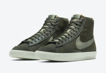 Nike Blazer Mid Olive DH4271-300 Release Date Info