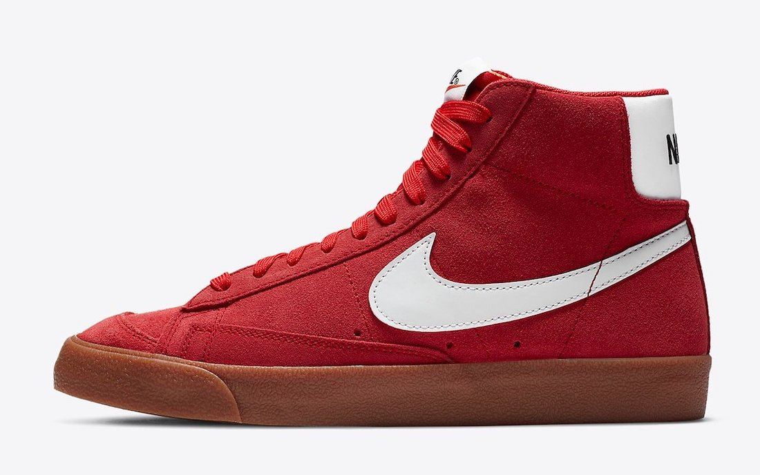 Nike Blazer Mid Suede Red Gum CI1172-600 Release Date Info