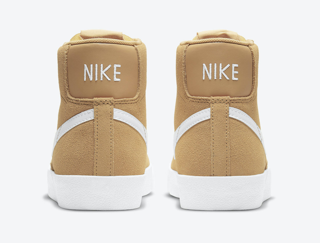Nike Blazer Mid Wheat Suede DB5461-701 Release Date Info