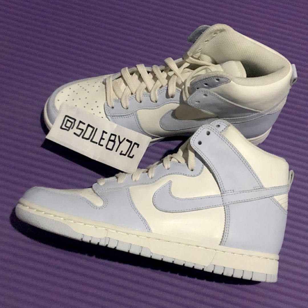 Nike Dunk High Sail Football Grey Pale Ivory DD1869-102 Release Date Info