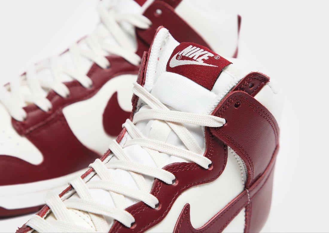 Nike Dunk High Team Red DD1869-101