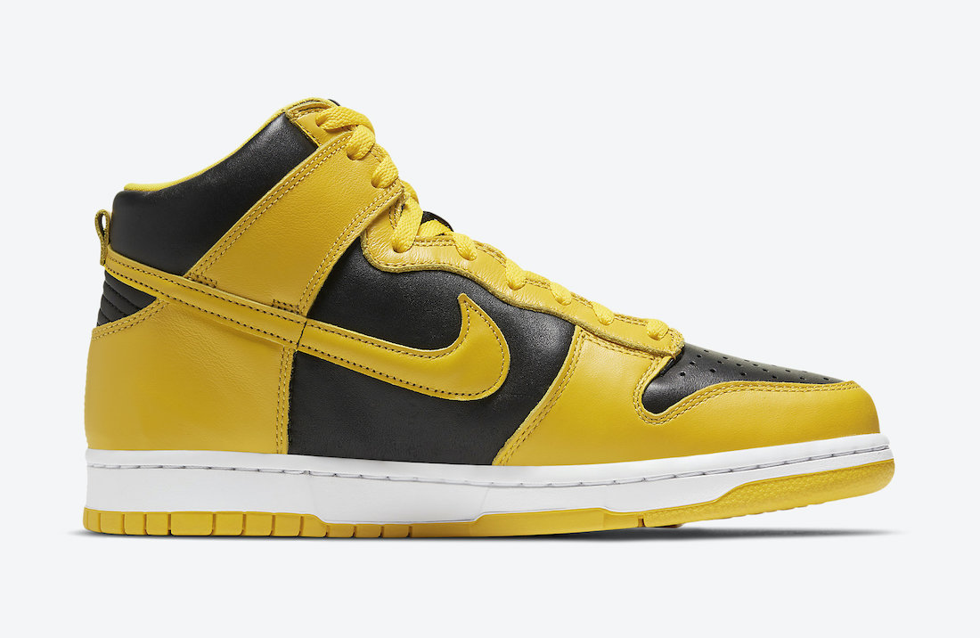 Nike Dunk High Varsity Maize CZ8149-002 Release Info Price