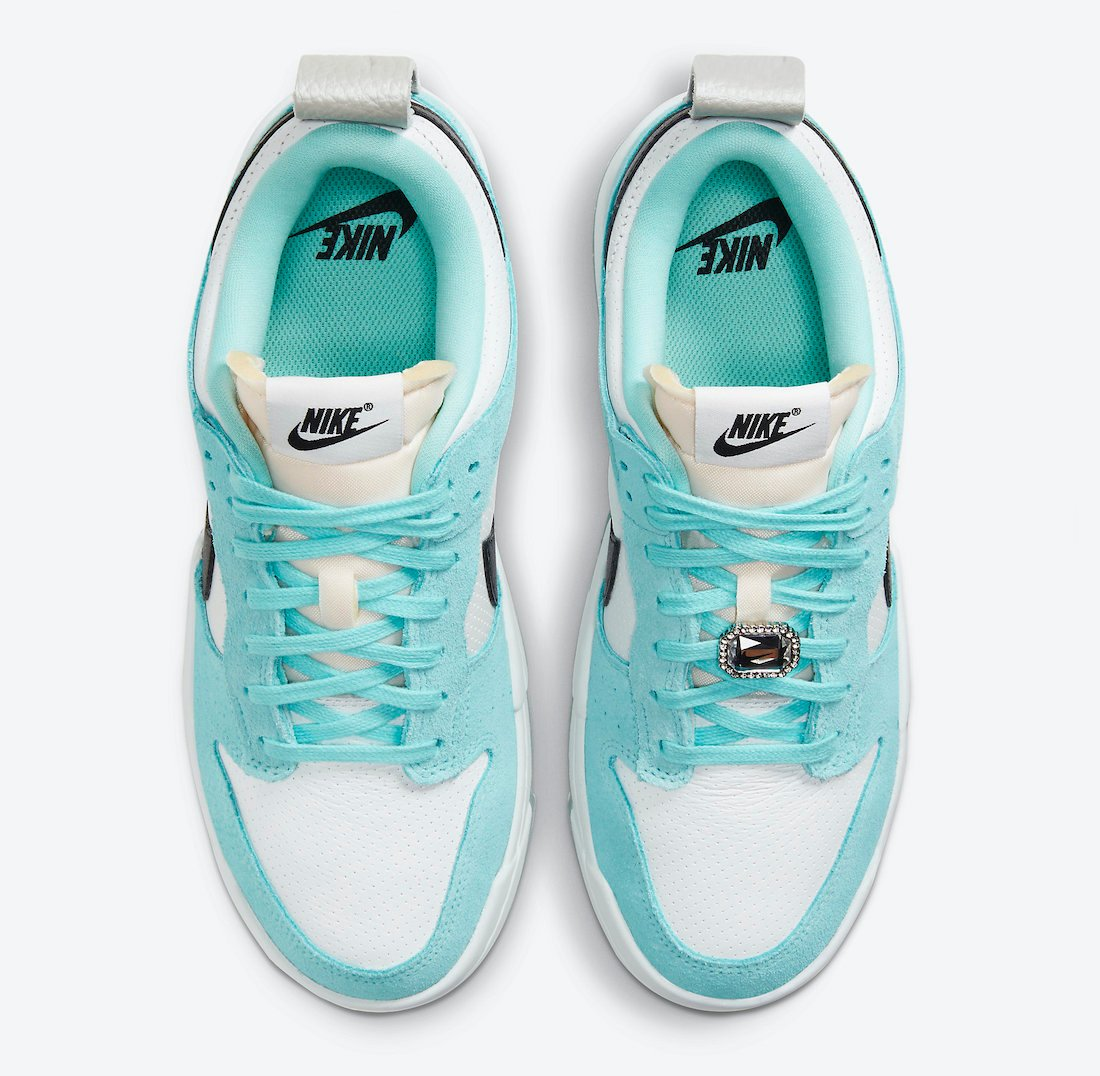 Nike Dunk Low Disrupt Copa Black White Silver DD6619-400 Release Date Info