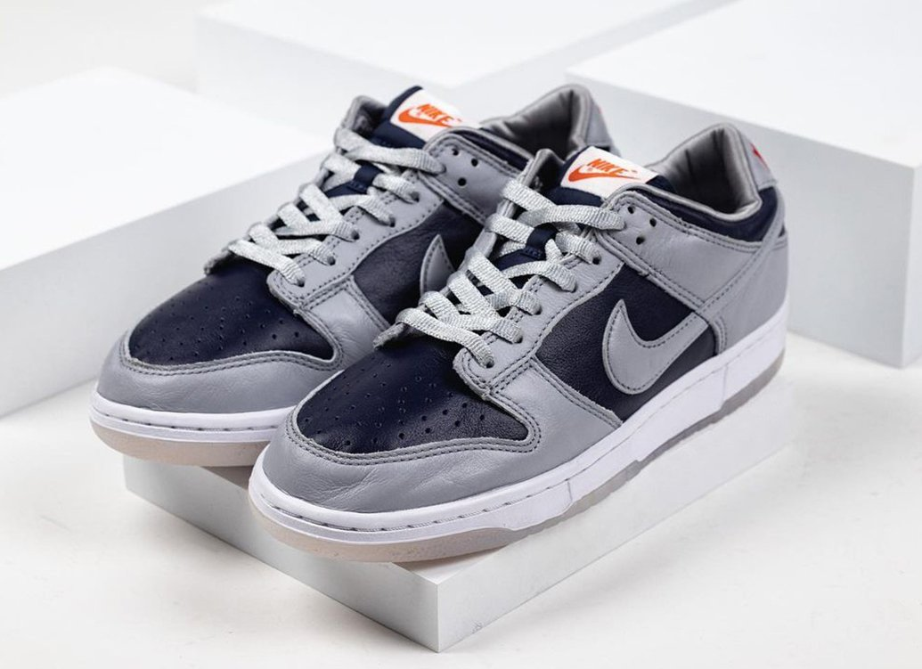 Nike Dunk Low Grey Black Silver Red Release Date Info