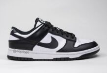 Nike Dunk Low White Black Release info