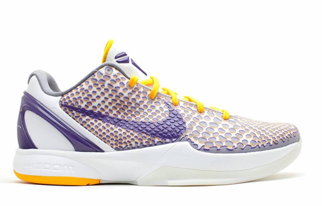 Nike Kobe 6 Protro 3D Lakers CW2190-101 Release Date Info