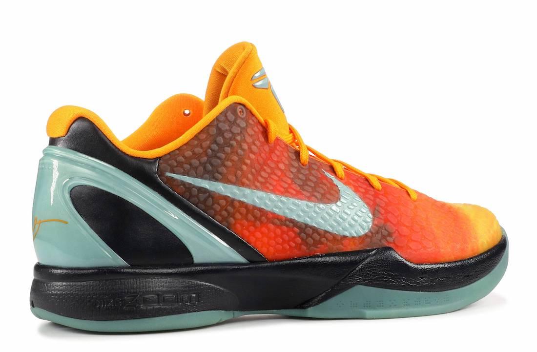 Nike Kobe 6 Protro Orange County CW2190-800 Release Date Info