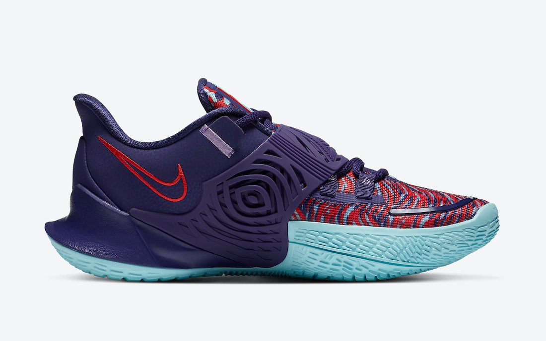 Nike Kyrie Low 3 New Orchid CJ1286-500 Release Date Info