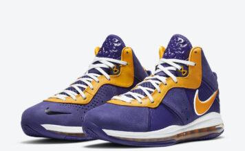 Nike LeBron 8 Lakers DC8380-500 Release Info Price