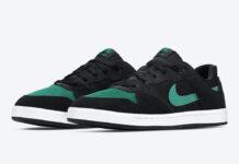 Nike SB Alleyoop Mysterious Green CJ0882-007 Release Date Info